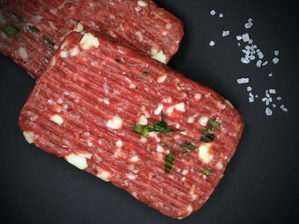 Hamburger speck-rucola-provola